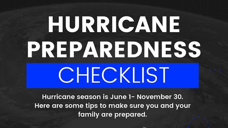 Hurricane Season is Here – Stay Safe