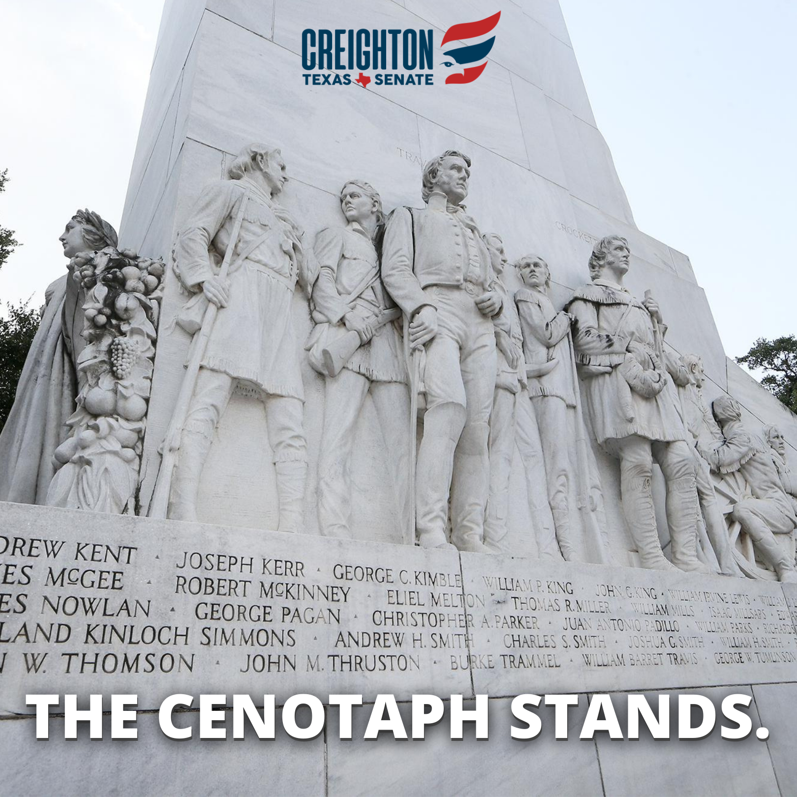 The Cenotaph Stands