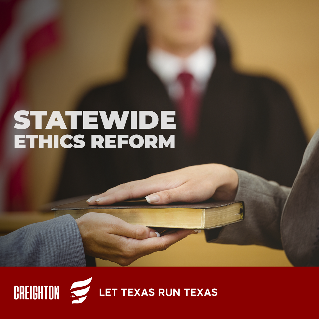 For Statewide Ethics Reform